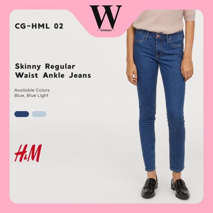 Jual H&M Celana Jeans Wanita Skinny Jeans ORI Waist Ankle Jeans H&M Jeans Kota Tangerang Selatan Kie Soe Shop | Tokopedia