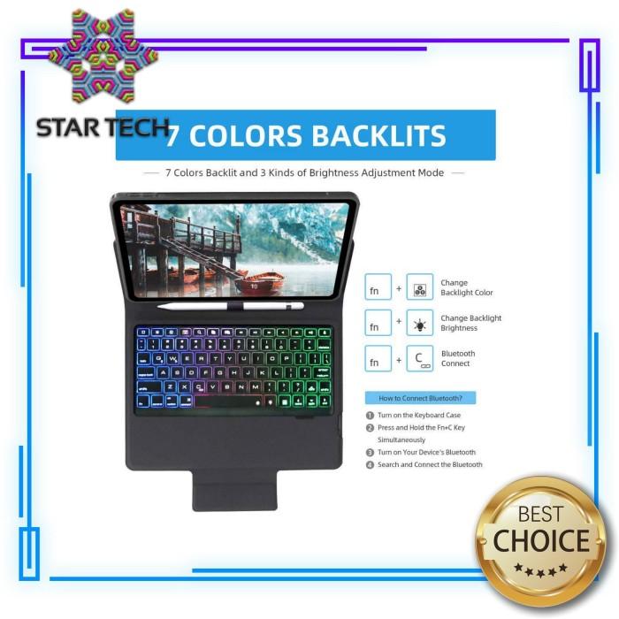 Jual Keyboard Case Ipad Pro 10 5 Inch 3rd Gen Bluetooth Casing Flip Cover Biru Kab Tangerang Electric Central Tokopedia