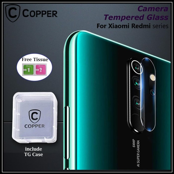 Foto Produk Xiaomi Redmi Note 8 Pro - Copper Tempered Glass Kamera dari Copper Indonesia
