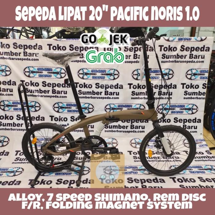"Jual Sepeda Lipat Remaja/Dewasa 20"" Pacific Noris 1.0"