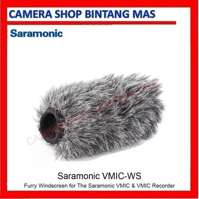 Foto Produk Saramonic VMIC-WS Furry Windscreen for The VMIC & VMIC RECORDER dari Camera Shop Bintang Mas