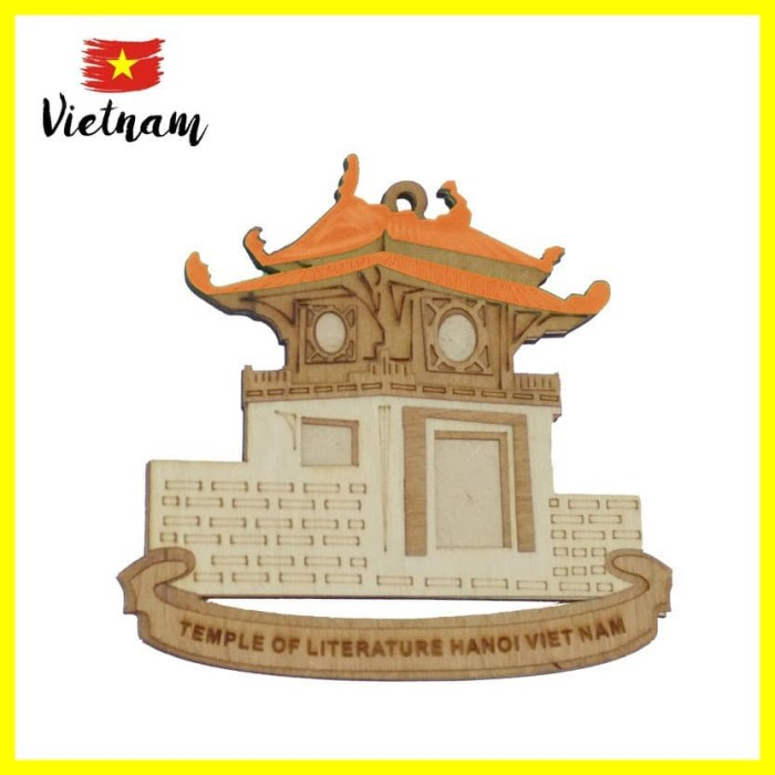 Foto Produk Souvenir Mancanegara Magnet Tempelan Kulkas Vietnam Temple Of Orange dari Iyesh Online Store