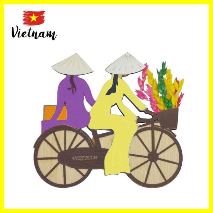Foto Produk Souvenir Mancanegara Magnet Tempelan Kulkas Vietnam Sepeda C UnguKunin dari Iyesh Online Store