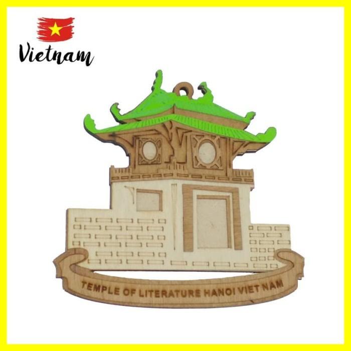 Foto Produk Souvenir Mancanegara Magnet Tempelan Kulkas Vietnam Temple Of Hijau dari Iyesh Online Store