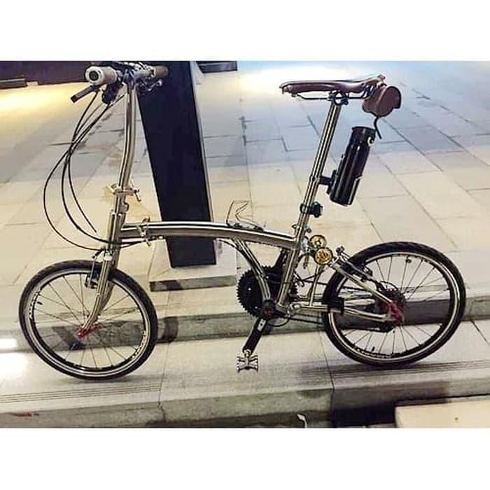 Jual Rangka Sepeda Lipat TITANIUM Ban 20inch TRIFOLD