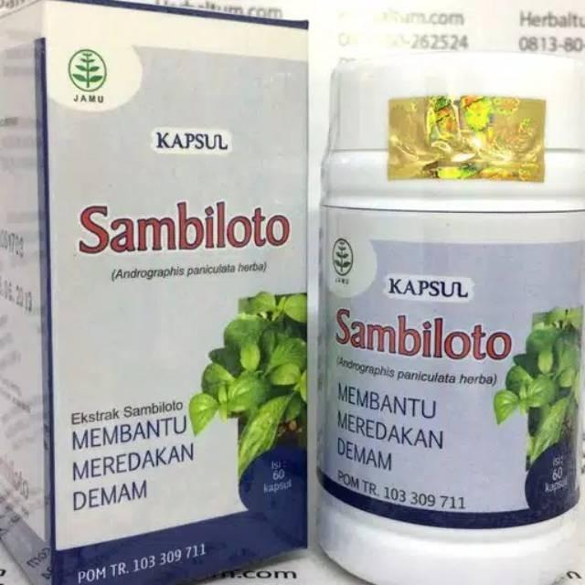 Foto Produk Herbal anti peradangan kapsul sambiloto tazakka 60 kapsul dari tokojelasmurah