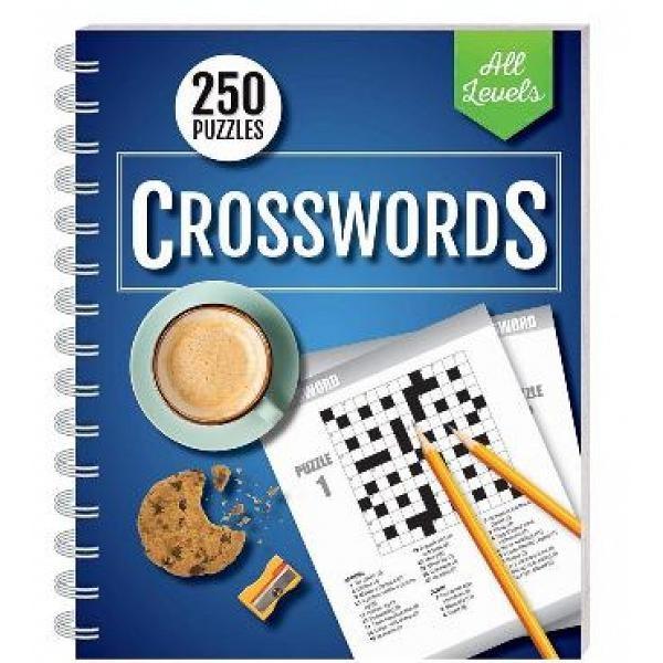 Foto Produk 250 Puzzles: Crossword All Levels (wire-bound) - 9781488906497 dari Periplus