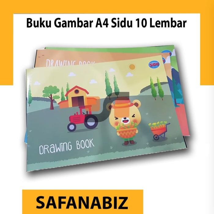 Foto Produk Buku Gambar A4 Sidu Isi 10 Lembar Harga Grosir ATK Terdekat 2020 dari safanabiz
