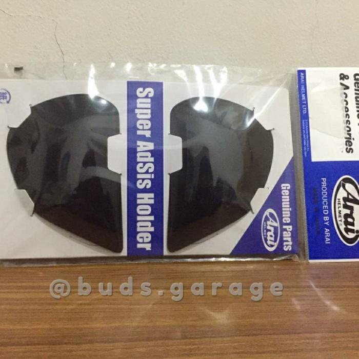 Foto Produk Helm Arai Part Sidepod SAI/SAL hitam dan putih new dari budsgarage