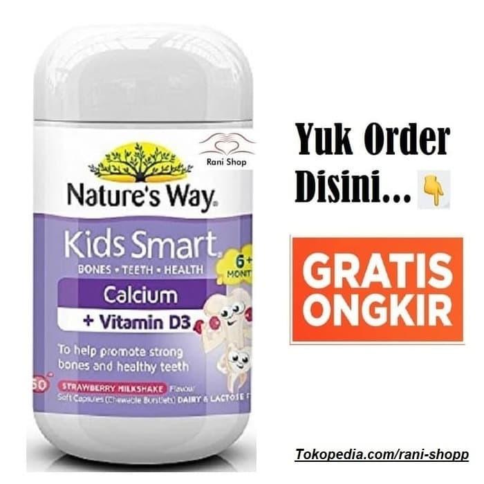 Foto Produk Nature's Nature Way Kids Smart Calcium Vitamin Vit D3 D Kalsium Anak dari Rani-Shop