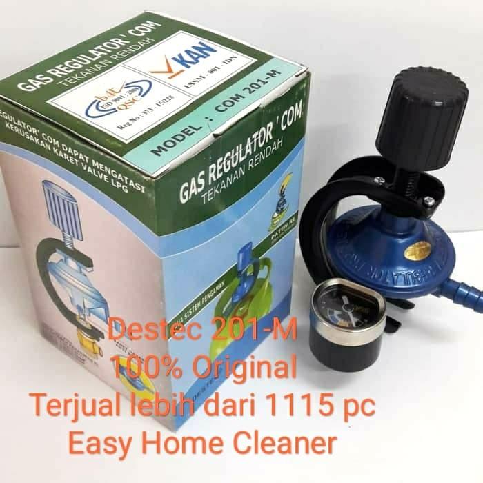 Foto Produk DESTEC Gas Regulator COM 201 - M dari EasyHomeCleaner