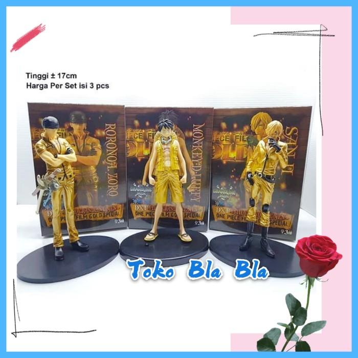 Jual One Piece Film Gold Special Luffy Sanji Roronoa Zoro Action Figure Jakarta Barat Toko Bla Bla Tokopedia