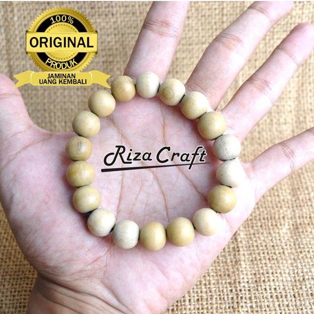 Foto Produk Gelang Kayu Dewandaru ASLI Etnik Bertuah Langka Unik Terbaik 12mm dari Riza Craft