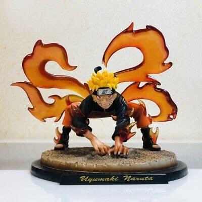 Jual Action Figure Pvc Naruto Uzumaki Kyubi 4 Tails Ver Naruto