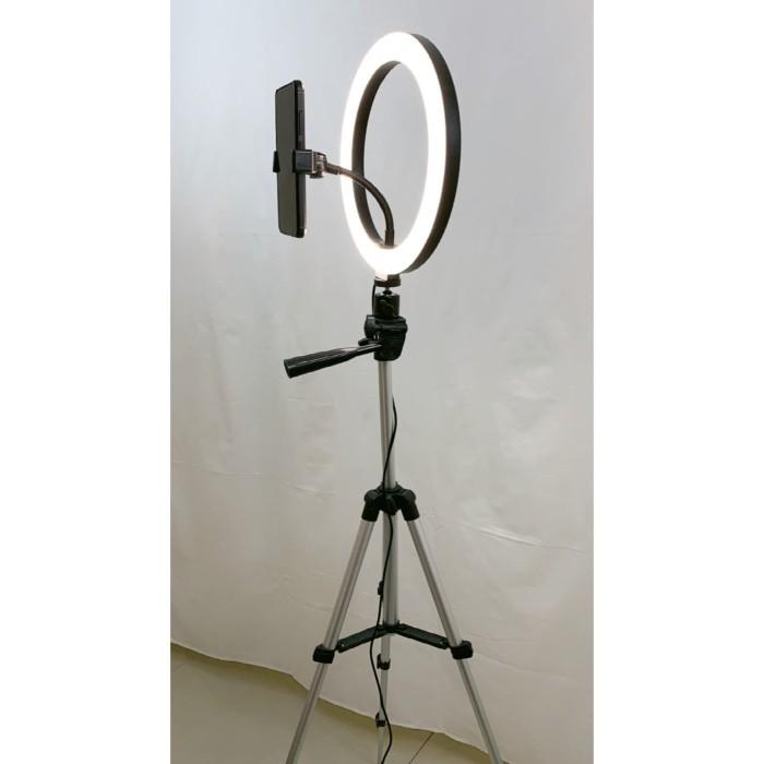 Foto Produk Ring Light 10 inch Tenwish with Light Stand 100cm Ring Light Makeup dari mysmiley