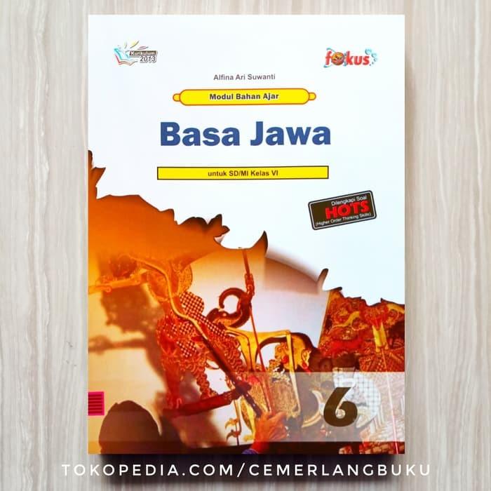 Jual Buku Sd Kelas 6 Lks Lembar Kerja Siswa Bahasa Jawa Kelas 6 Sd Jakarta Utara Jaemanhutasoit Tokopedia