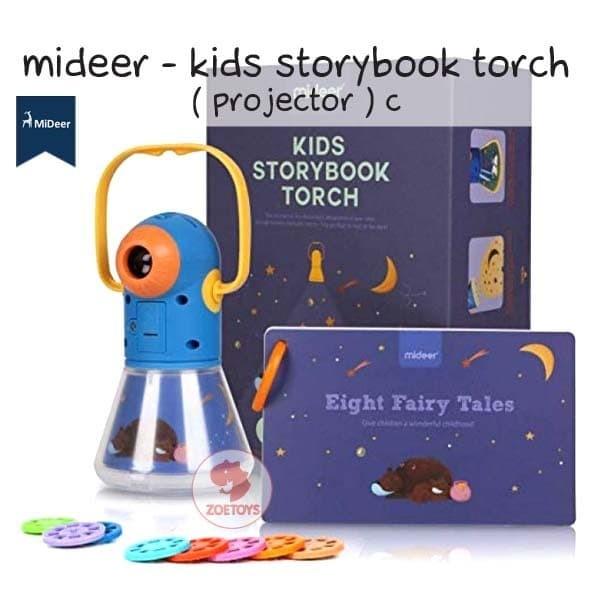 Foto Produk Zoetoys Mideer - Kids Storybook Torch ( Projector ) C   mainan edukasi dari zoetoys