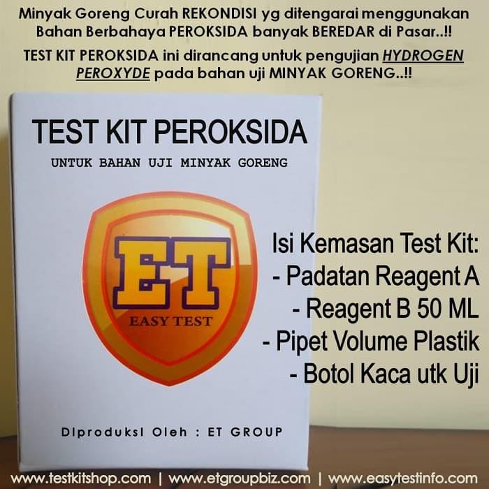 Foto Produk Test Kit Peroksida utk Minyak Goreng Curah Rekondisi dari easytest