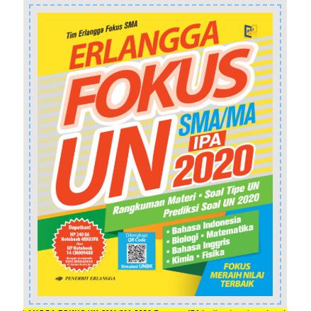 Jual Erlangga Fokus Un Sma Prog Ipa 2020 Kunci Jawaban Kota Yogyakarta Dmb Buku Tokopedia