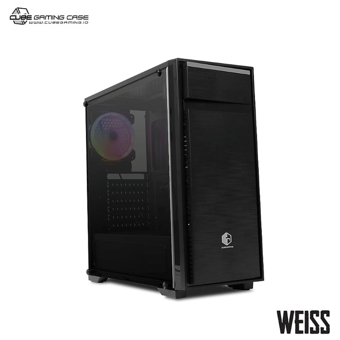 Jual Cube Gaming Weiss V2 0 Black Jakarta Pusat Wasd Computer Tokopedia