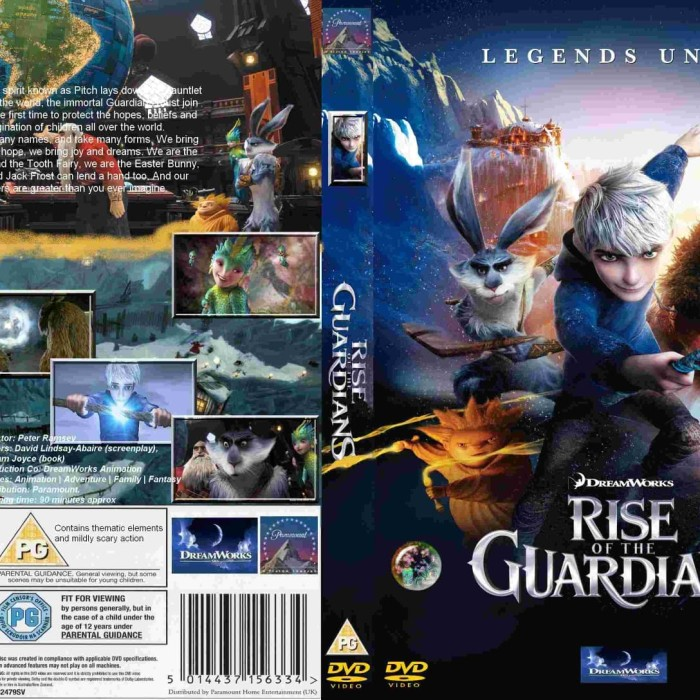 Jual Film Dvd Rise Of The Guardians 2012 Movie Collection Film Koleksi Jakarta Barat M Collector Tokopedia
