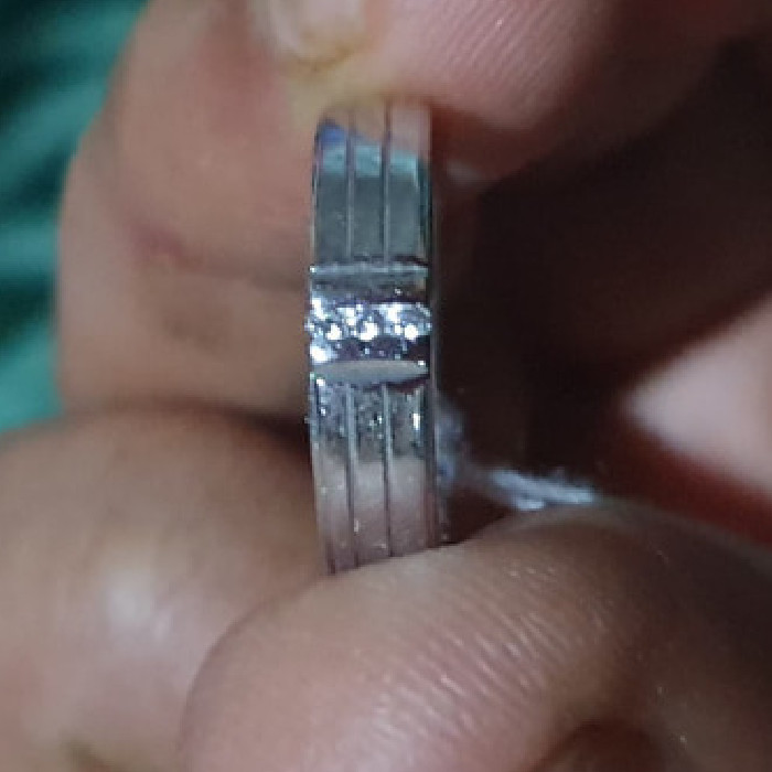 Jual Cincin Perak Pria Wanita Couple T121219 Kota