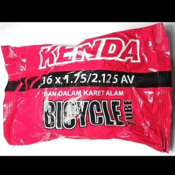 Jual ban dalam kenda ukuran 16 x 1.75 2.125 sepeda lipat