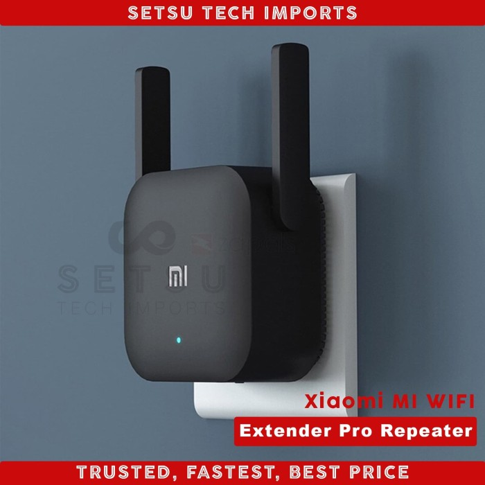 Foto Produk Xiaomi Mi WiFi Extender Pro Repeater Amplifier 300Mbps Original dari SETSU Tech Imports