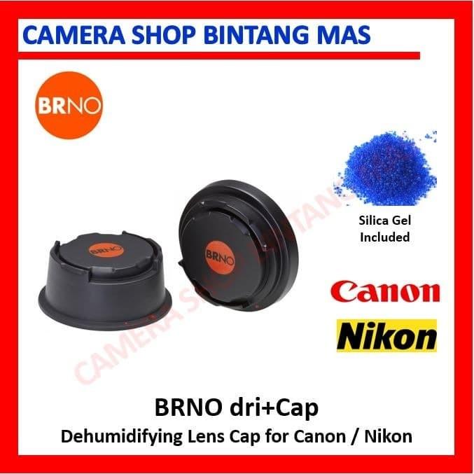 Foto Produk BRNO Dri + KIT Dehumidifying Caps for Canon Nikon (include Silica Gel) dari Camera Shop Bintang Mas