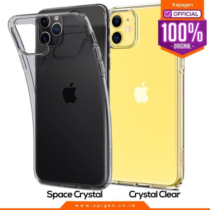 Jual Case Iphone 11 Pro Max 11 Pro 11 Spigen Liquid Crystal Casing Crystal Clear 11 Pro Max Jakarta Barat Spigen Official Tokopedia