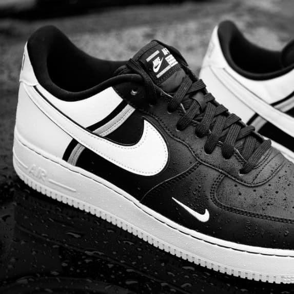 Jual Nike air force 1 lv 8 black white