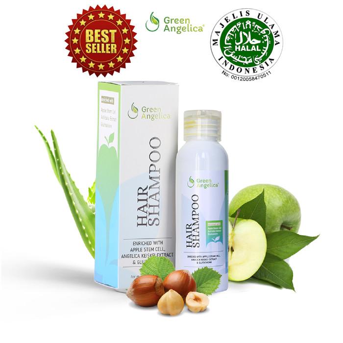 Foto Produk Shampoo Penumbuh Rambut Mencegah Rontok Parah dan Penipisan dari Green Angelica Shop Indo
