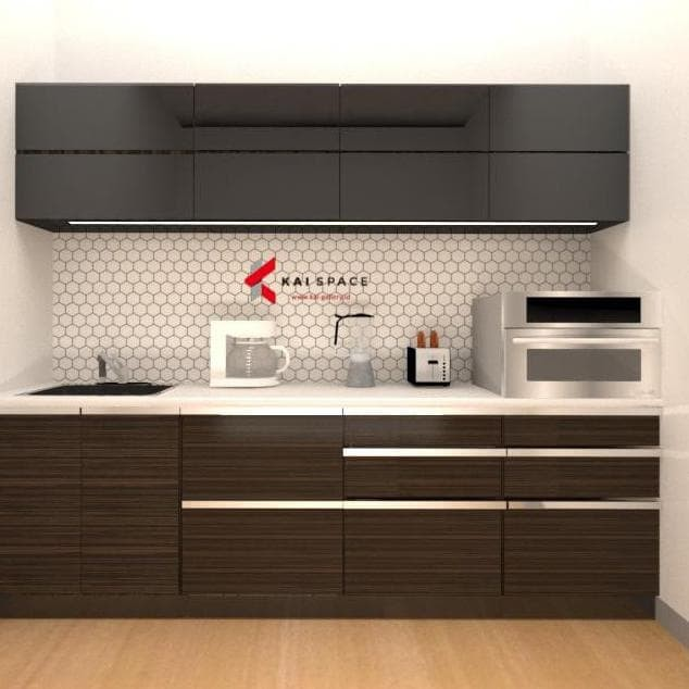 Jual Modern Design Kitchen Set Dapur Minimalis Custom Furniture Rumah Jakarta Timur Rinasafitri Tokopedia