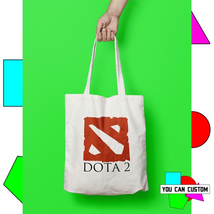 Jual Canvas Totebag Dota 2 Logo Kab Tangerang Yc Custom Tokopedia