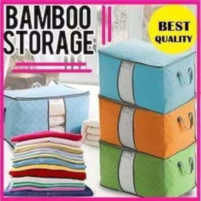 Foto Produk Storage Bag Tempat Penyimpanan Pakaian selimut bed cover horizontal dari Grosir Vacuum Bag