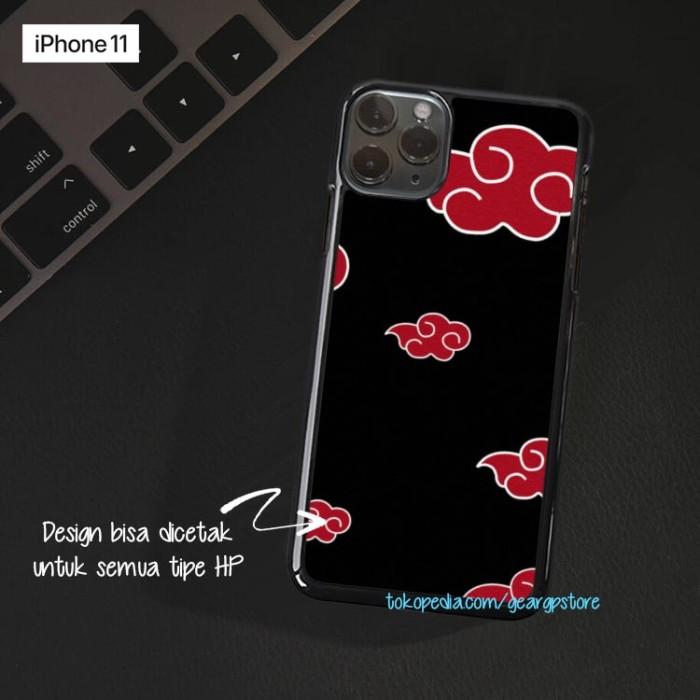Jual Casing Hp Naruto Akatsuki Cloud Iphone 11 X 8 7 6 5 Max Plus