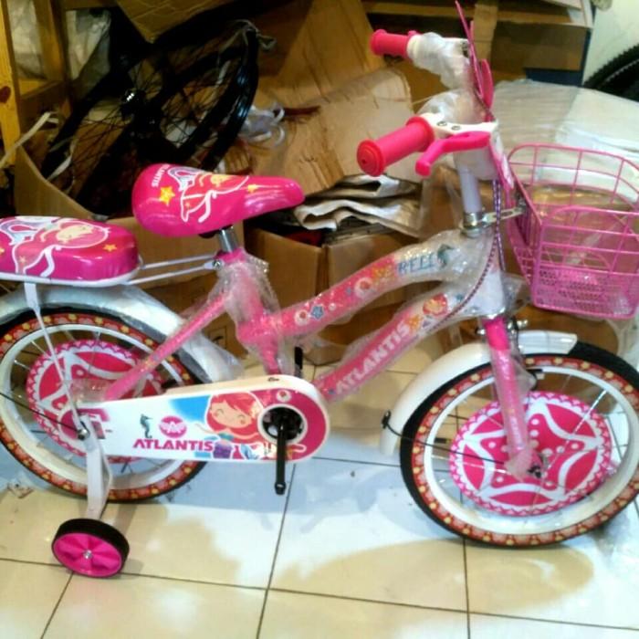 Jual Sepeda anak ukuran 16 cewek model mini Kota Depok