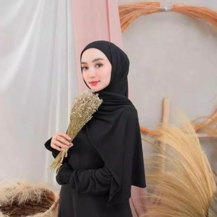 Jual Hijab Kerudung Jilbab Pashmina Instan Pastan Inner Ciput Hitam Coklat Kota Bandung Gallery Hijab Store Tokopedia