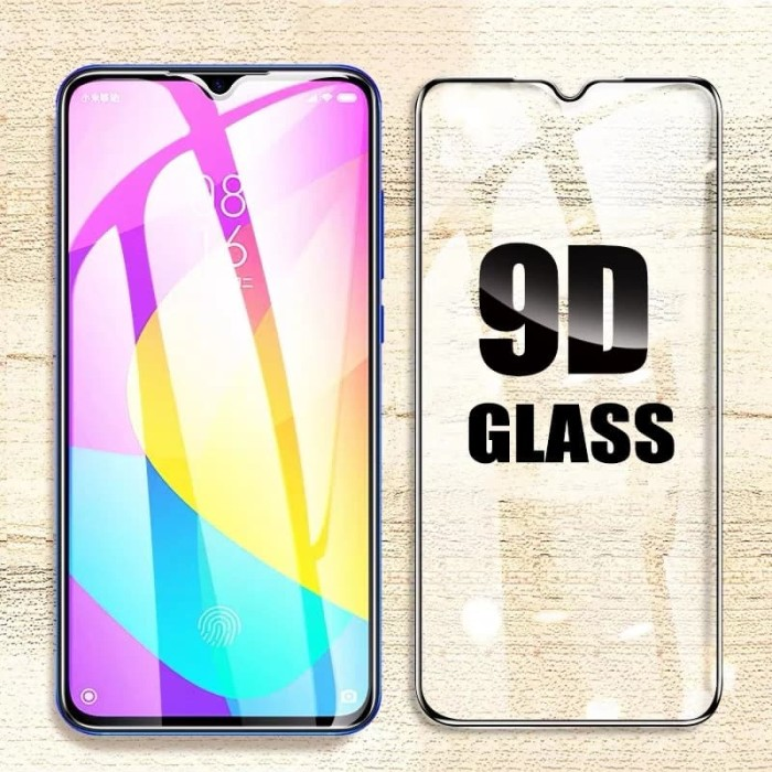 Foto Produk Tempered Glass Full Cover VIVO Y12 / Y15 / Y17 5D /9D Anti gores kaca - Hitam dari LionZ13