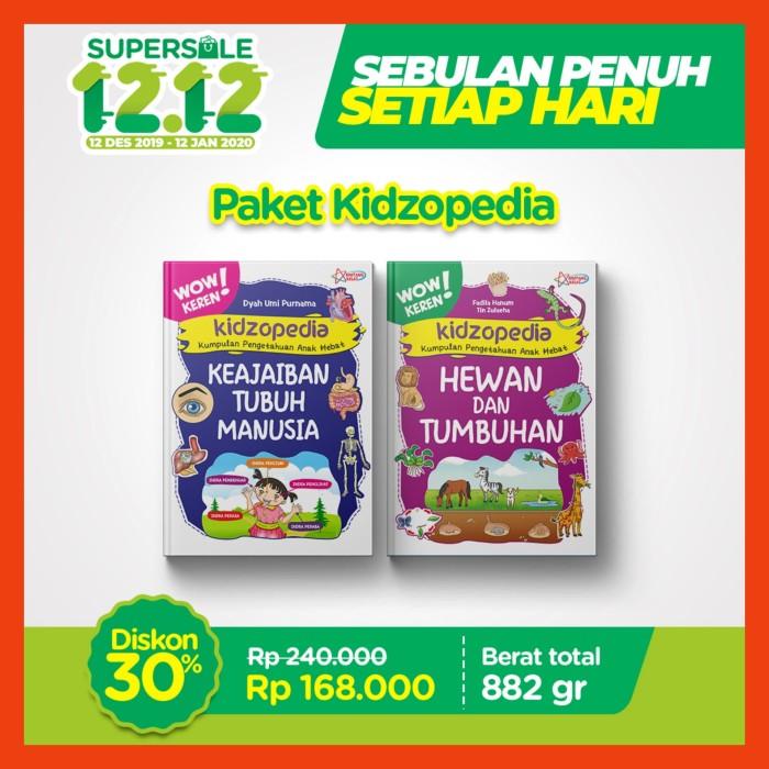 Jual Promo Ziyad 12 12 Buku Paket Kidzopedia Kota Tangerang Selatan Bbagzshop Tokopedia