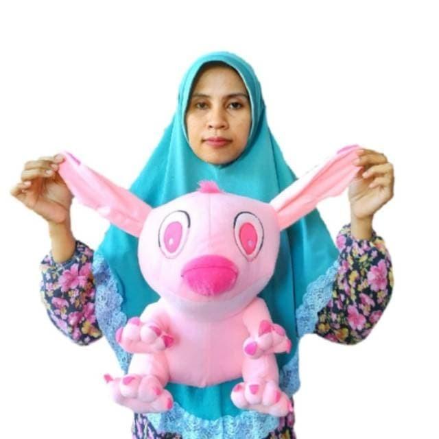 Jual Boneka Stitch Pink L 35cm Sni Kota Probolinggo Undangan Kita Tokopedia