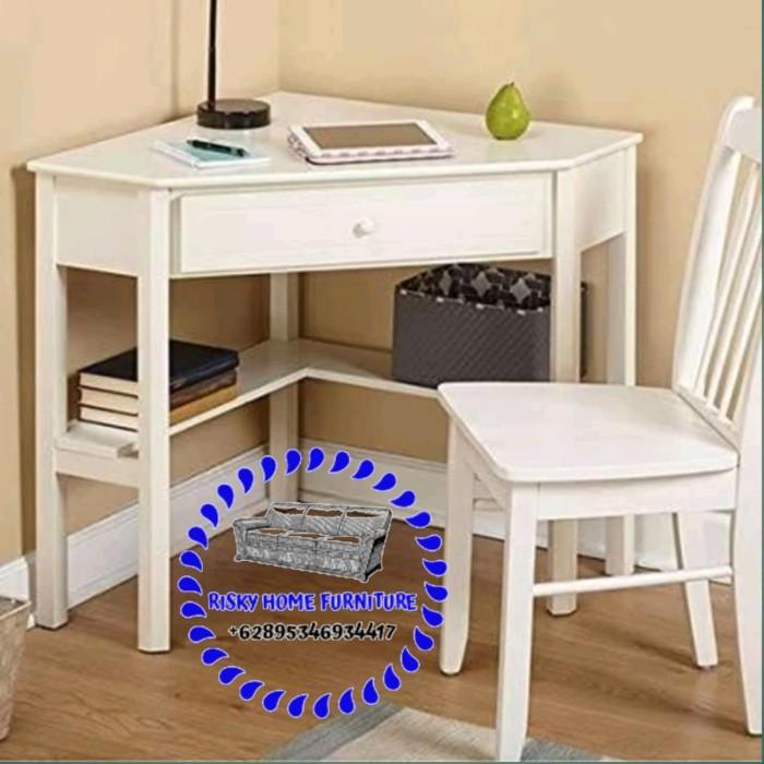 Jual Meja Belajar Sudut Anak Minimalis Modern Kab Jepara Risky Home Furniture Tokopedia