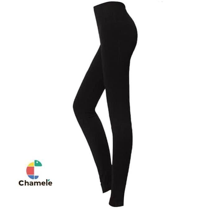 Jual Chamele Celana Legging Basic Wanita Warna Hitam Uk S M Jakarta Barat Caca 0lshop Tokopedia