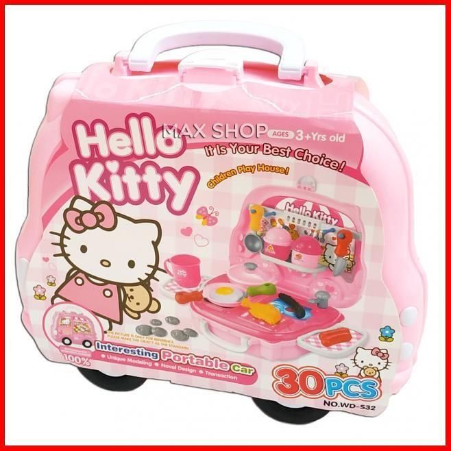 Jual Kitchen Set Koper Hello Kitty Masakan Anak Wd S32 Mainan Masak Jakarta Timur Tamannadona Tokopedia