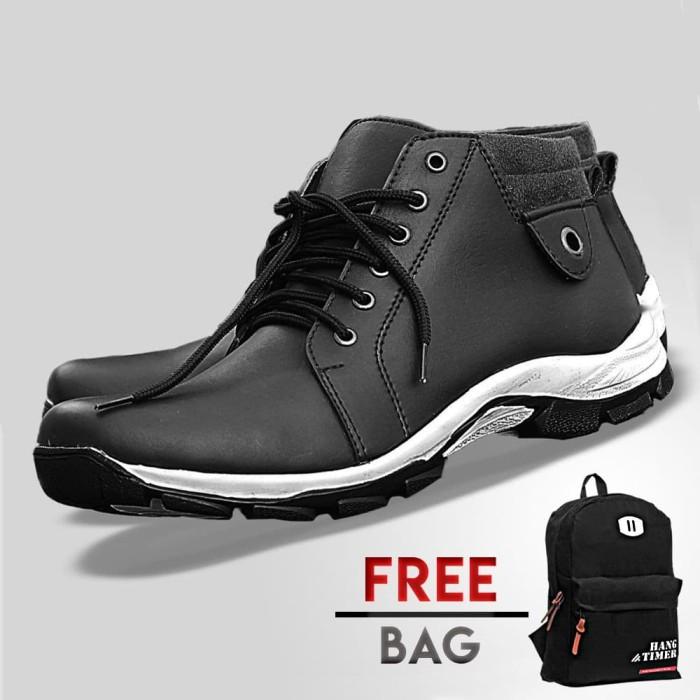 Foto Produk Sepatu Kasual Pria S. Van Decka T-WR022 Free Tas Ransel dari S.Van Decka