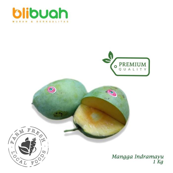 Jual Mangga Indramayu Buah Tebal 1kg / Mango / Mangga ...