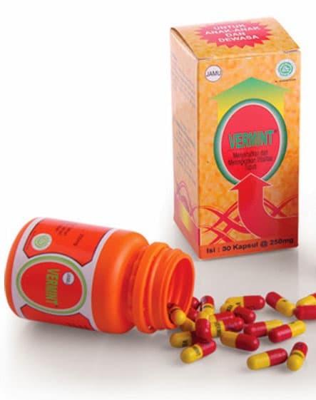 Foto Produk VERMINT isi 30 kapsul Original Obat Tipes Typus Tipus Herbal dari sehat herbal shop