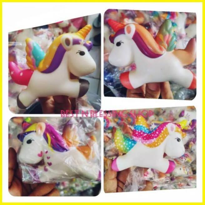 Jual Promo Squishy Unicorn Kuda Poni Putih Jakarta Selatan Seinaayu Tokopedia