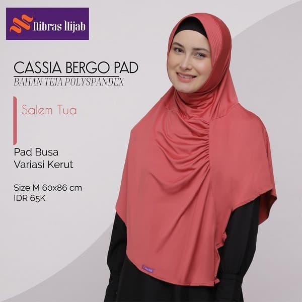 Jual Nibras Hijab Cassia Bergo Pad M Warna Salem Tua Instan Syar I Bhn Teja Kota Tangerang Selatan Hibban Online Shop Tokopedia