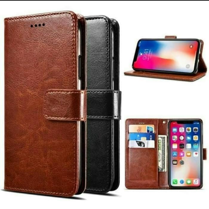 Foto Produk flip Cover OPPO RENO 3 2020 CASE COVER KULIT CASING LEATHER WALLET dari Dunia Acesories phone